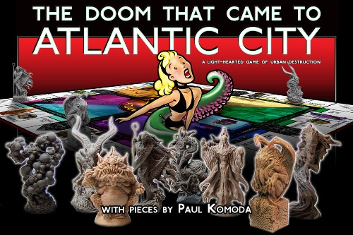 Failed Kickstarter board game resurrected by game publisher Cryptozoic