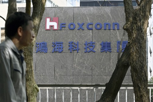 Foxconn and Fiat Chrysler will make electric cars for China