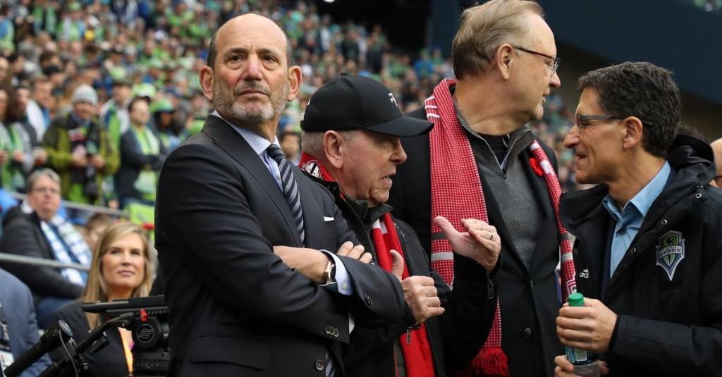 MLS season will resume 'soon', Commissioner Don Garber says