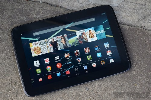 Asus-made Nexus 10 tablet reportedly coming soon