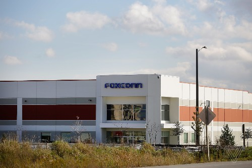 Foxconn says empty buildings in Wisconsin are not empty