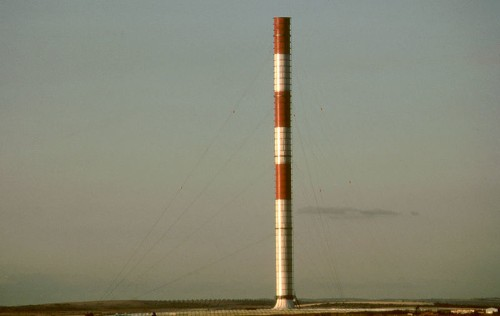 Not just hot air: balloon engineer wants to build a gigantic inflatable solar chimney