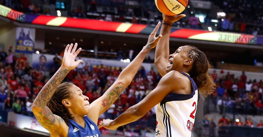 The Indiana Fever upset the Minnesota Lynx in the 2012 Finals, giving Tamika Catchings her first and only WNBA title