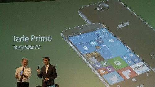 Acer's Windows 10 phone will morph into a PC thanks to Continuum
