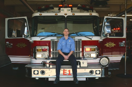A firefighter from North Carolina is writing apps for Google Glass to make his job safer