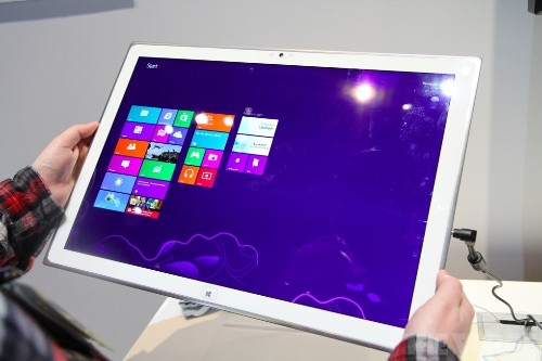 Panasonic's giant 4K tablet goes on sale in January for an eye-popping $5,999