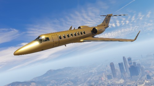 Soon you'll be able to buy a solid gold plane in Grand Theft Auto Online
