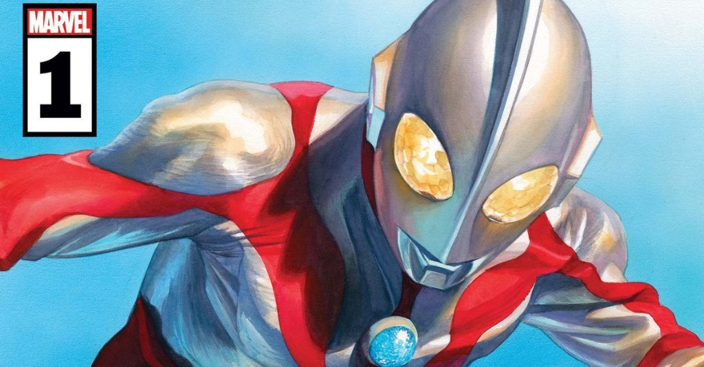 Japanese superhero Ultraman barely shows up for his Marvel Comics debut