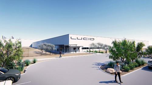 Here's what Lucid Motors' $700 million EV factory will look like