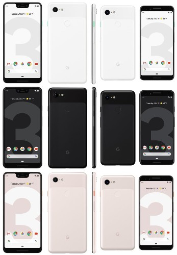 Last-minute Google Pixel 3 leaks reveal colors, AI camera features, and even the retail box