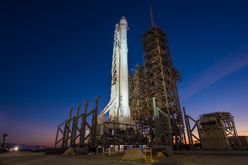 SpaceX wins its second Air Force launch contract, beating out the United Launch Alliance