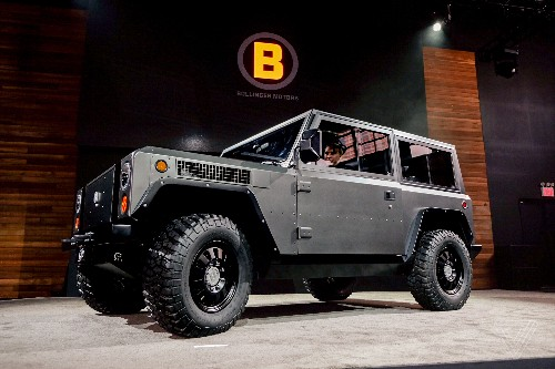 The Bollinger B1 is an all-electric truck with 360 horsepower and up to 200 miles of range