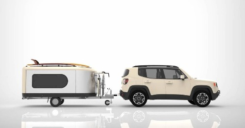 Tiny camper pod expands to 3 times its size in seconds
