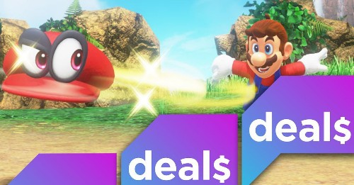 A Nintendo Switch bundle perfect for Valentine's Day and more gaming deals