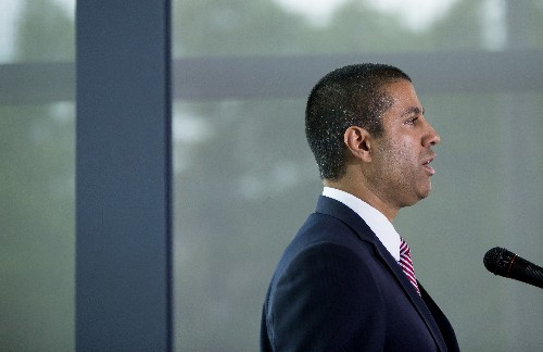 FCC chairman Ajit Pai condemns death threat allegedly sent to congressman over net neutrality