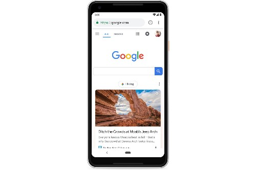 Google begins rollout of Discover feed on US homepage - The Verge