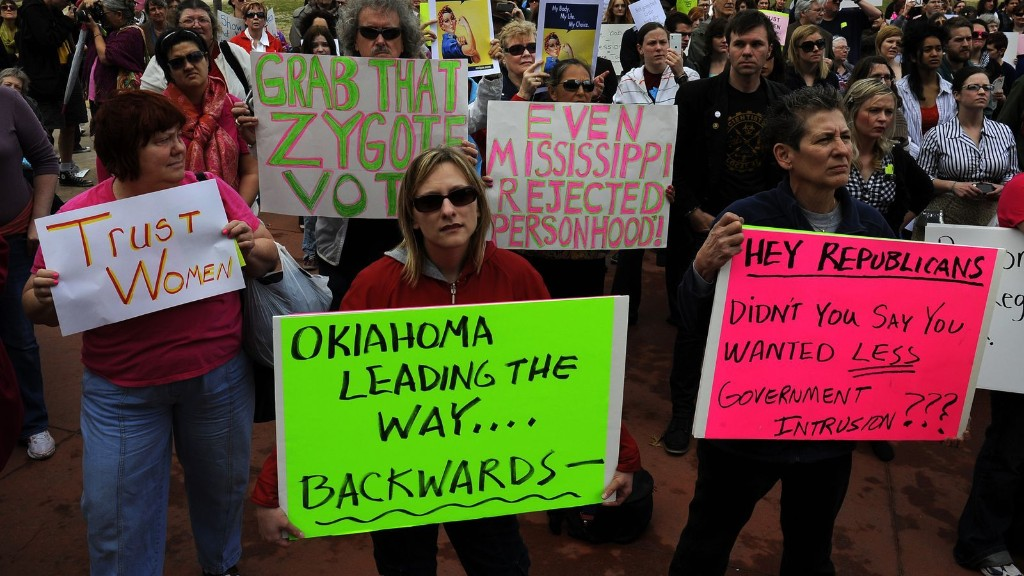 """Oklahoma lawmaker: pregnant women's bodies aren't their own, because they are """"hosts"""""""