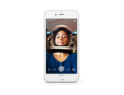 Facebook clones Snapchat's face filters and ephemeral photo messages