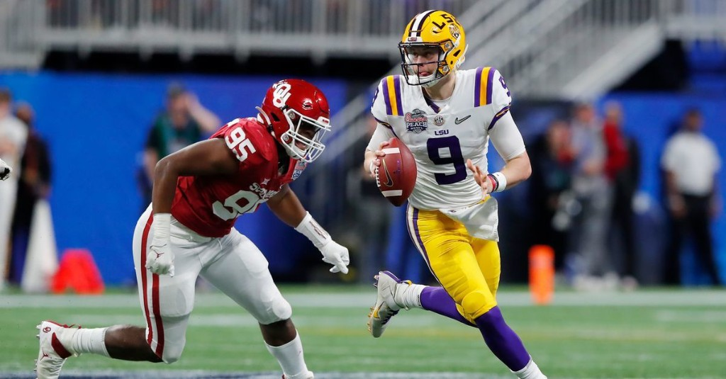 Ranking Every Joe Burrow Touchdown From His Peach Bowl Masterpiece