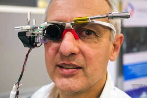 Italian Google Glass competitor GlassUp shows off first prototype