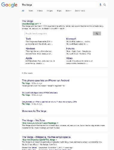 Google is testing a new Material Design layout for desktop searches
