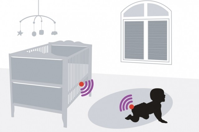 RFID sensor is powered by dirty diapers