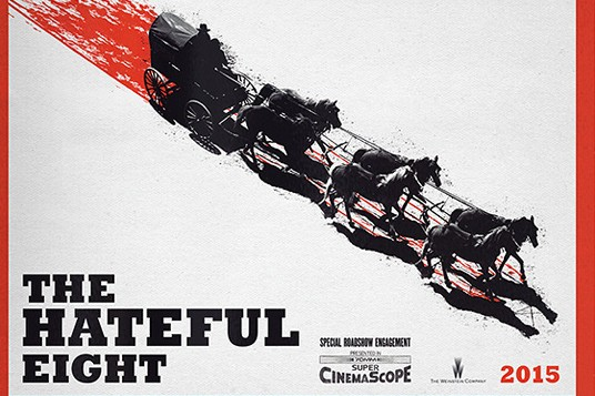 Quentin Tarantino's 'The Hateful Eight' is coming next year, and this is its first poster