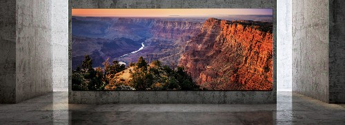 Samsung's The Wall Luxury is a 292-inch 8K modular TV