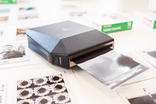Fujifilm made a mobile printer for its new square format film