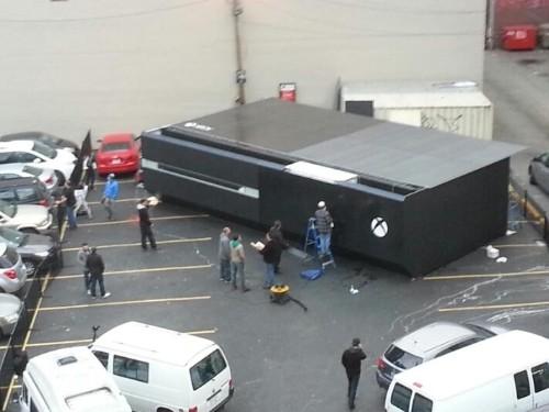 Xbox One, the destroyer: Microsoft's weird marketing blitz is novelty sized