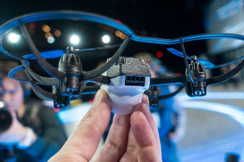 Intel's new Shooting Star Mini drones can make indoor light shows