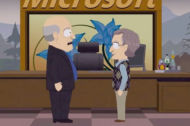 Bill Gates orders Ballmer's execution as 'South Park' console wars escalate