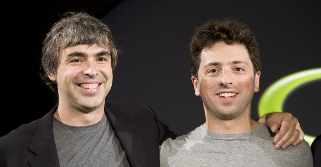The rise, disappearance, and retirement of Google co-founders Larry Page and Sergey Brin