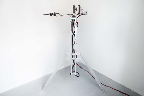 This machine records ambient noise to remix sounds from reality