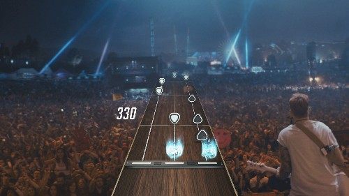 Guitar Hero Live is a first-person rock star simulator coming this fall