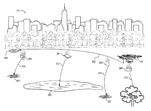 Amazon patents self-destructing drone that falls apart in an emergency