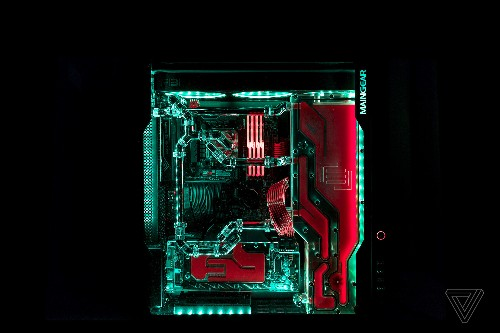 This over-the-top gaming PC is an engineering marvel