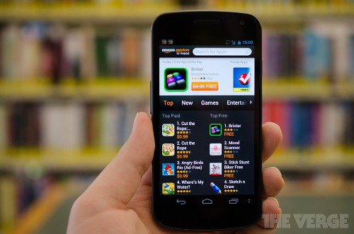 Amazon and Apple call a truce in lawsuit over 'app store' trademark