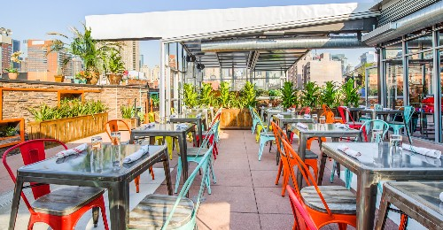 22 Enticing Rooftop Bars Around NYC