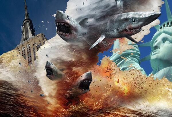'Sharknado' jumps to the big screen, will play in theaters across the US next Friday at midnight