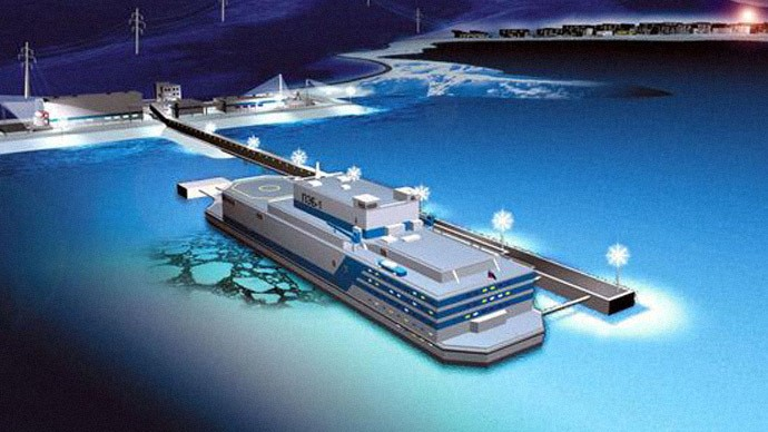 Russia hopes to have a floating nuclear power plant in operation by 2016