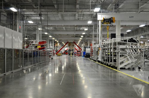 Battery cells are now in production at Tesla's Gigafactory