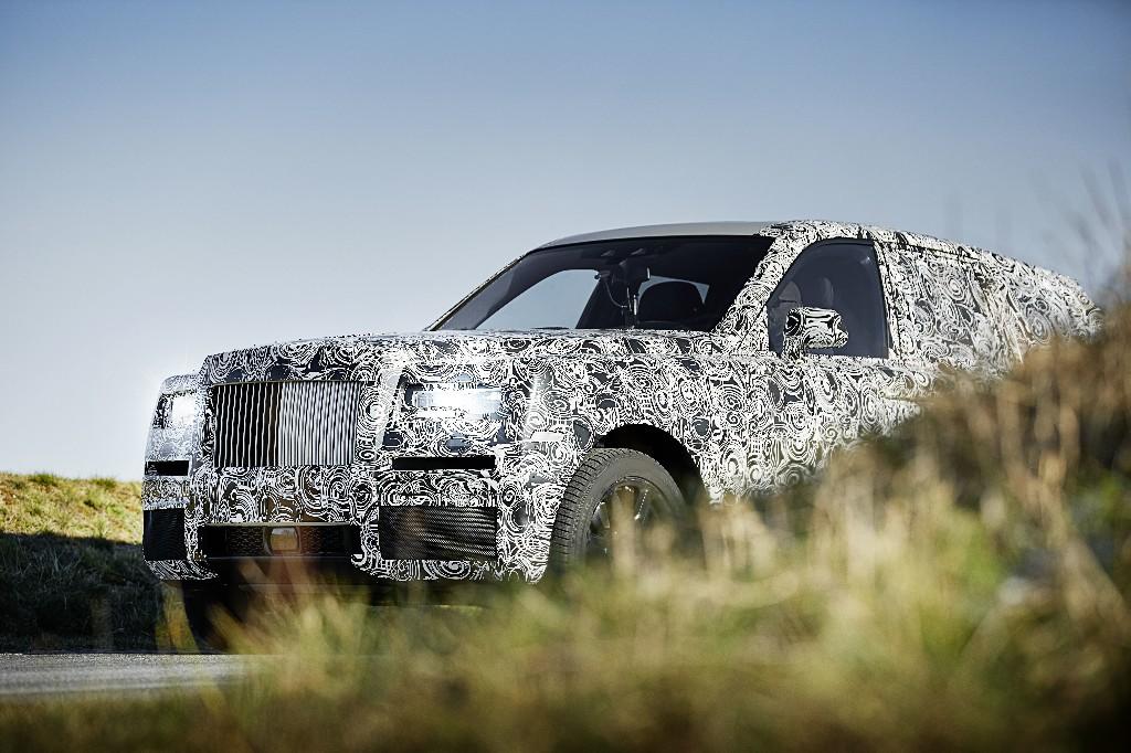 Rolls-Royce's upcoming SUV looks like a supersized Phantom