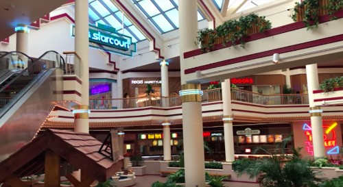 Starcourt Mall from 'Stranger Things' is actually a real dead mall