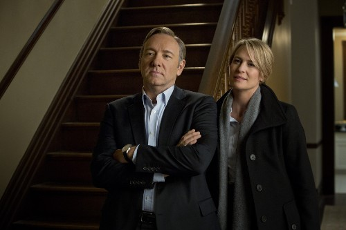 Watch Kevin Spacey and Robin Wright talk about what made 'House of Cards' great