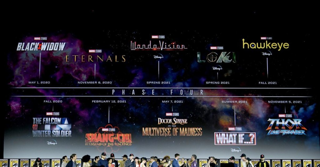 Disney pushes the release dates of all Marvel movies in the next two years