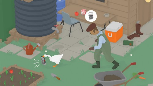 Untitled Goose Game is the best selling game on Switch right now