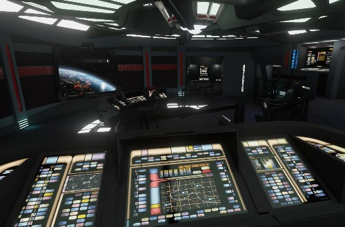 Explore the bridge of 'Star Trek: Voyager' through Oculus Rift