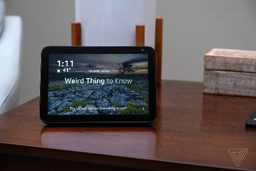 Amazon's Echo Show 8 hits the sweet spot for smart displays