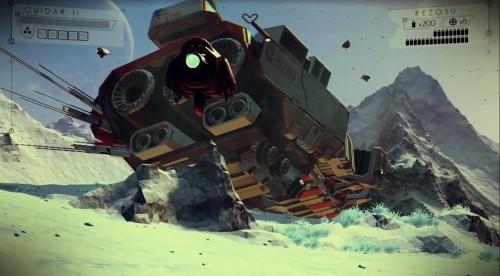 Enormous world exploration sim 'No Man's Sky' announced from 'Joe Danger' creator Hello Games